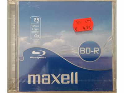 Maxell BD-R Disk 25 GB